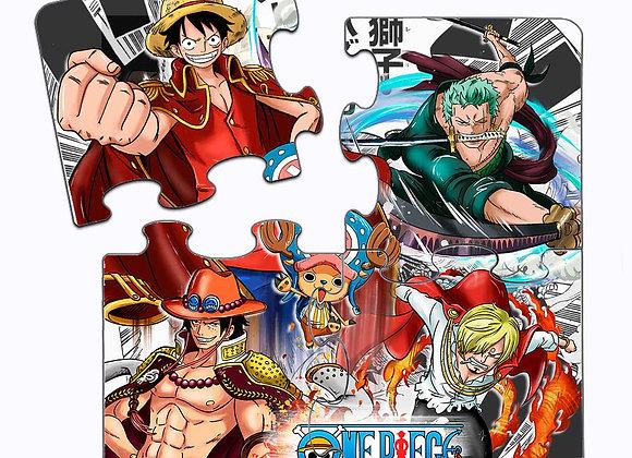 POSAVASOS PUZZLE One Piece