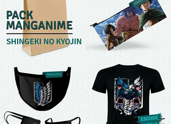 PACK Titanes _Camiseta+Estuche+Mask
