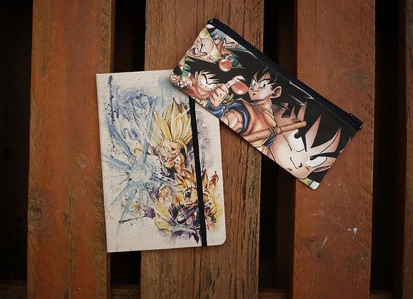 PACK Dragon Ball 02 Libreta + Estuche