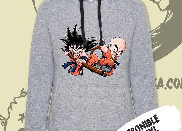 SUDADERA Goku+ Krilín (Dragon Ball))