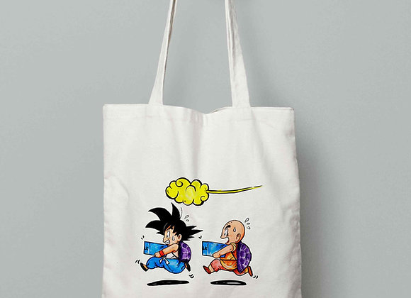 TOTEBAG Goku + Krilin (Dragon Ball)