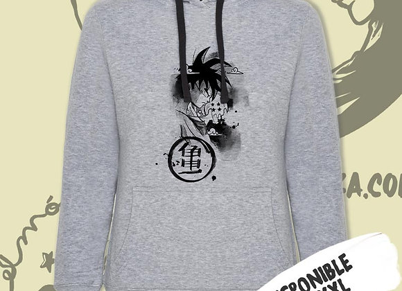 SUDADERA Goku kanji (Dragon Ball)