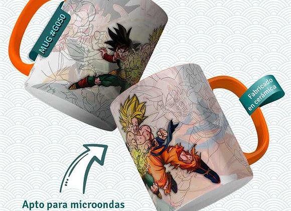 TAZA Goku Goku y Bardock