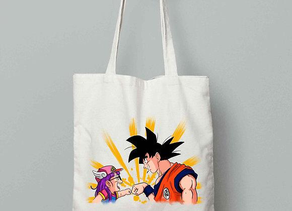 TOTEBAG Goku + Arale