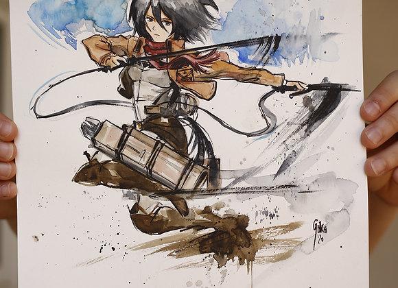 Mikasa Ackerman -ORIGINAL