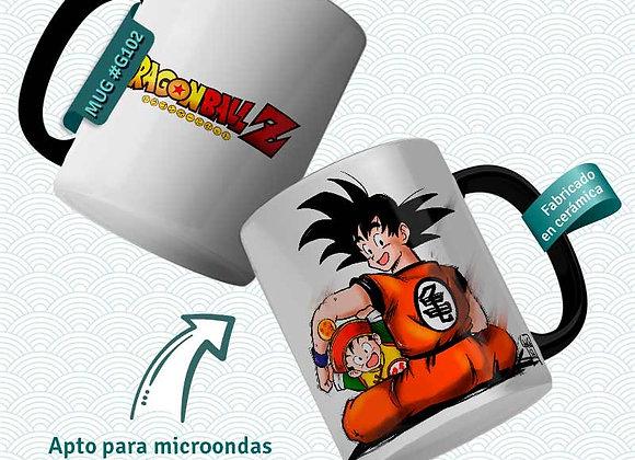 TAZA  Goku e hijo  (Dragon Ball)