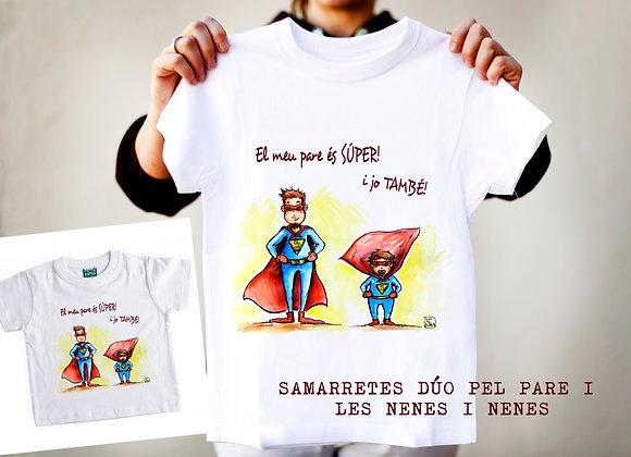 """SAMARRETES """"EL MEU PARE ÉS SÚPER I JO TAMBÉ"""""""