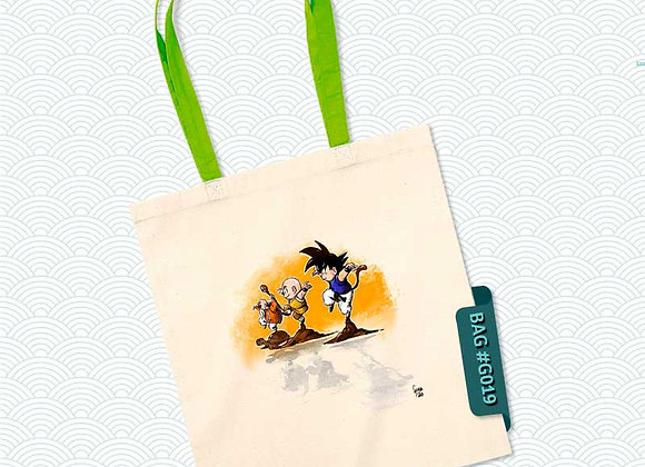 TOTEBAG Mutenroshi + alumnos (Dragon Ball)