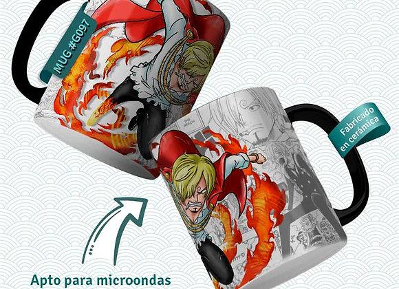 TAZA One Piece SANJI