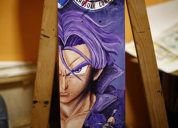 "SKATE Tributo a TRUNKS del manga ""Dragon Ball"" 60X15cm"