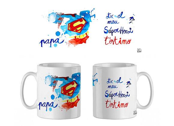 TASSA PAPA HEROI SUPERMAN