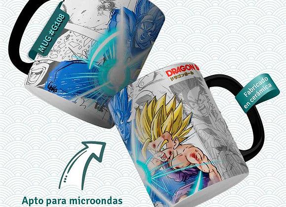 TAZA  kame Gohan cell  (Dragon Ball)