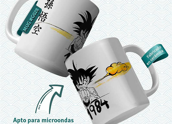 TAZA Goku 1984 (Dragon Ball)