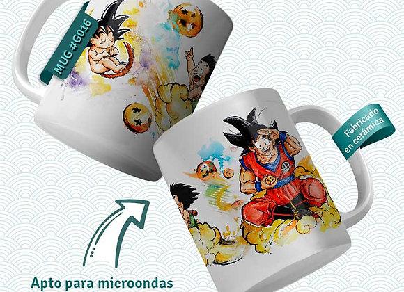 TAZA Goku Evolution (Dragon Ball)