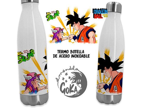 TERMO BOTELLA Goku y Arale