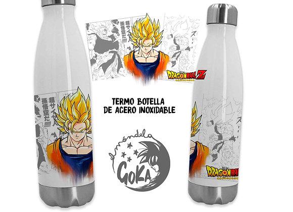 TERMO BOTELLA Goku Saiyan (Dragon Ball)