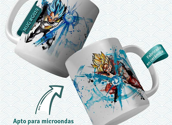 TAZA Goku&Vegeta (Dragon Ball)