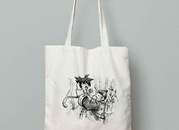 TOTEBAG Goku abuelo (Dragon Ball)