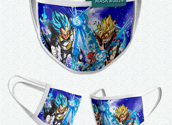 MASCARILLA: Goku i Vegeta (Dragon Ball)