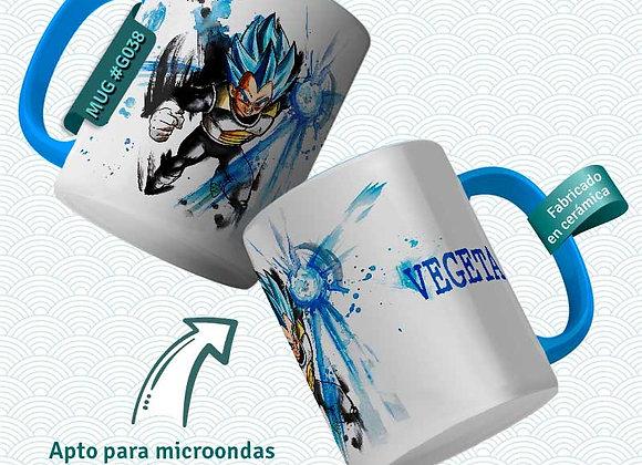 TAZA Vegeta Blue (Dragon Ball)