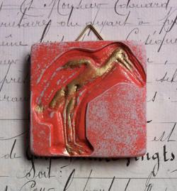Cigogne miniature