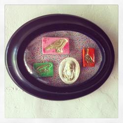 Miniatures encadrées