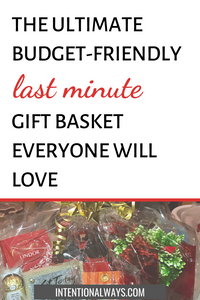 The Ultimate Last Minute Gift Basket That Everyone Will Love