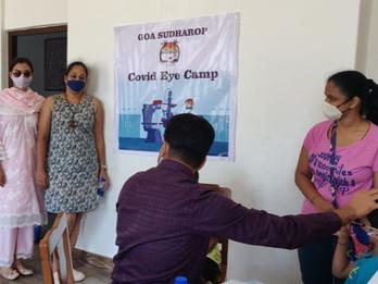 Goa Sudharop Covid Assistance - Eye Camps