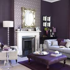 feature wall purple formal lounge newcastle painter