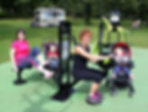 Wallace Park, Ireland, TGO outdoor gym,
