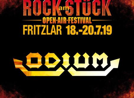 ODIUM bestätigt bei ROCK AM STÜCK 2019