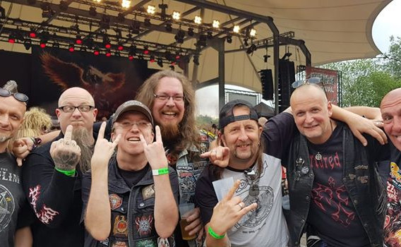 Some Fans at the ROCK HARD Festival
