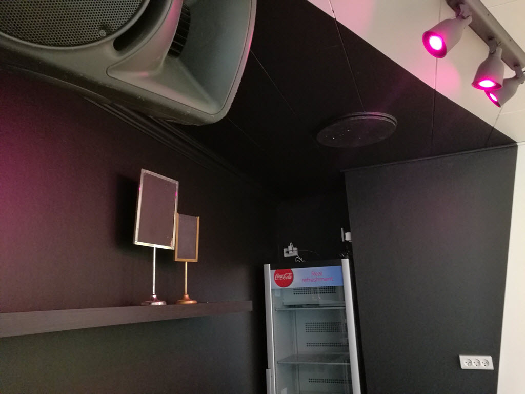 Bar med køleskab - Selskabslokale