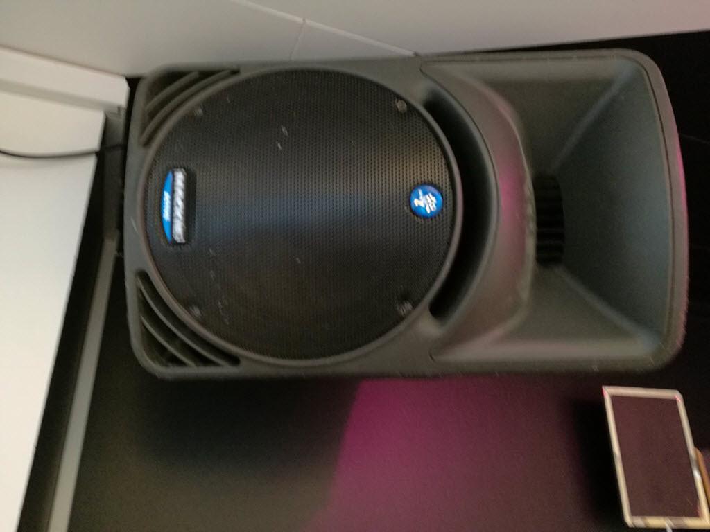 Gode højtalere - Selskabslokale