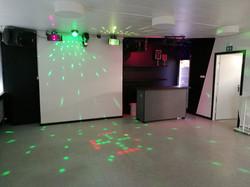 Bar og dansegulv - Selskabslokale