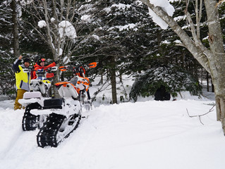Explore the Hokkaido wilderness with us on Timberlsleds