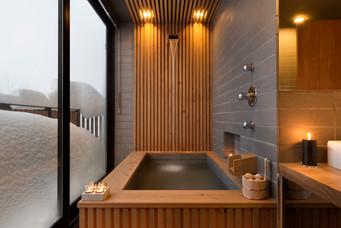 Yasuragi Onsen bathroom