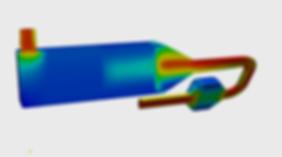 Maritime SCR DPF CFD velocity
