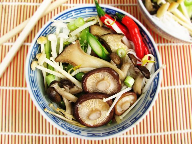 Woodland Mushroom Stir Fry