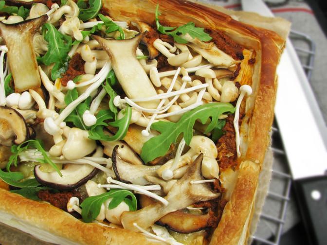 Woodland Mushroom Tart