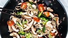 Shiitake Mushroom Stir Fry