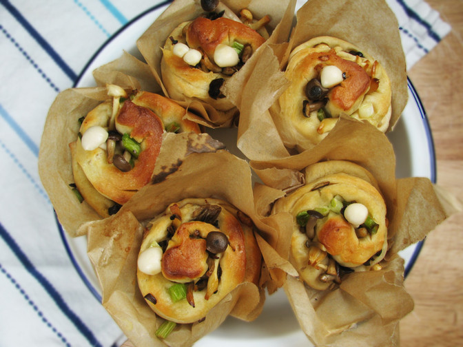 Woodland Mushroom Muffins