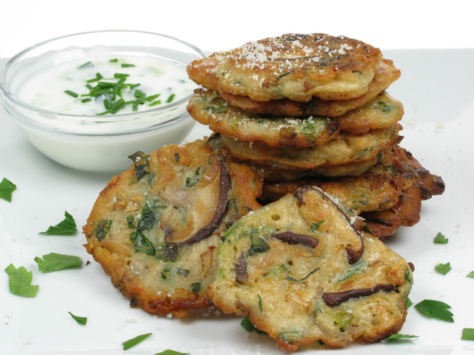 Woodland Mushrooms Fritters