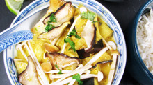 Woodland Mushroom Thai Yellow Curry
