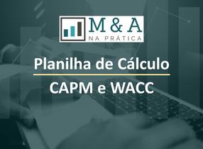Planilha para Cálculo de Custo de Capital de Empresas Brasileiras - CAPM e WACC