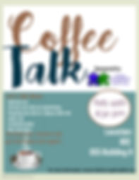 Copy of Coffee Talk Flyer - Made with Po