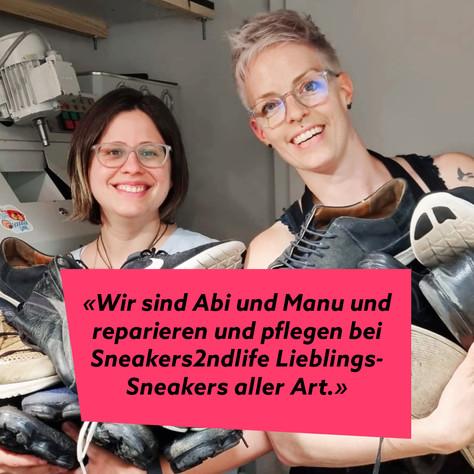 Abi und Manu von Sneakers2ndlife: Schuhe, die zwei Leben bewegen