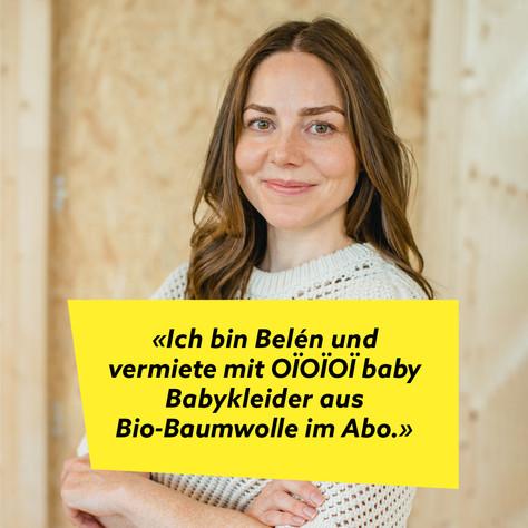 Belén von OÏOÏOÏ baby: Babykleider im Abo clever mieten