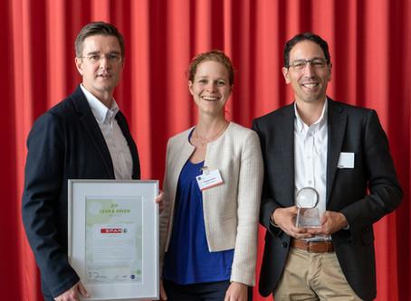 Die SPAR Gruppe erhält den Lean & Green Award von GS1