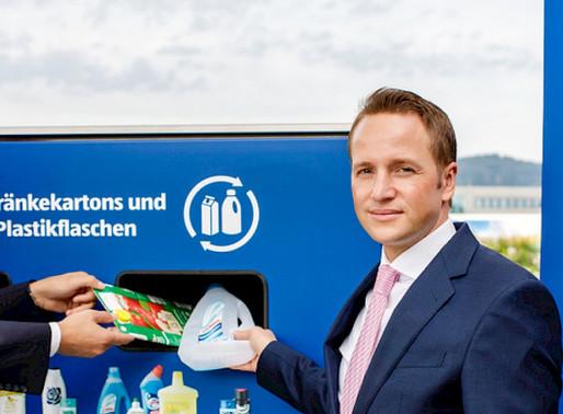 Mit Aldi Suisse erfolgreich Getränkekartons gesammelt